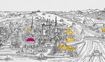 Kloster und Stadt zur Zeit des Konzils