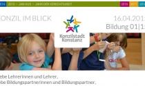 """Newsletter """"Bildung 01/2015"""" erschienen"""