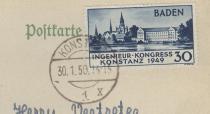 Briefmarke Ingenieurskongress