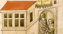 Einzug ins Konklave Richental-Chronik