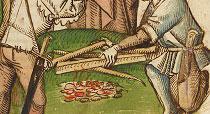 Feuerstelle: Szene aus der Richental Chronik