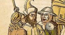 Hieronymus von Prag: Szene aus der Richental Chronik