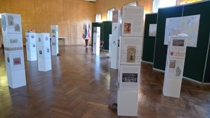 Vernissage der Ausstellung in Fontainebleau